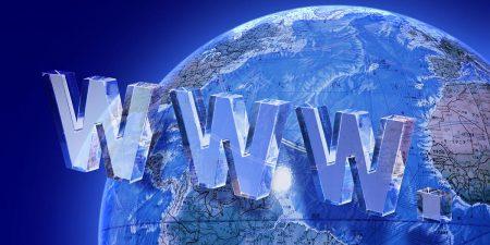 インターネット通信網は世界中を網羅しています